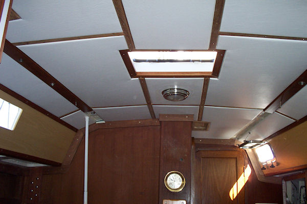 Proper practices for the interior of sailboats (Insulating